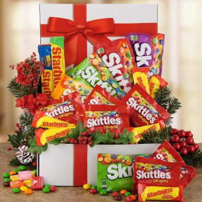 Santa Skittles Care Package