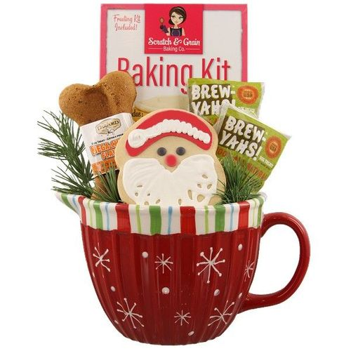 Santa Treats for Dog & Owner Gift