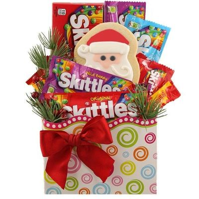 Skittles Christmas Candy Gift