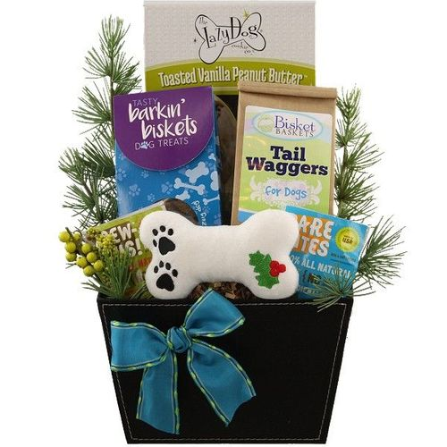 Tail Wagging Christmas Dog Gift