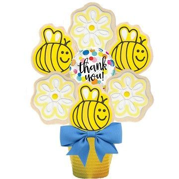 Thanks A Buzzillion Cookie Bouquet - SOLD OUT