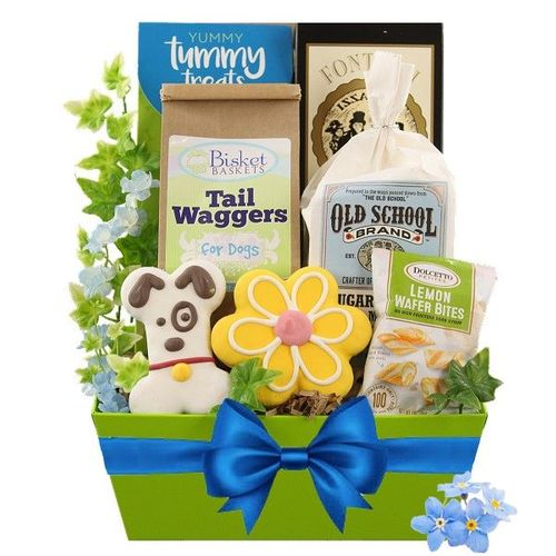 Treats for Two Dog and Owner Gift Basket