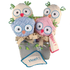 Two Hoots Gift Basket for Twins