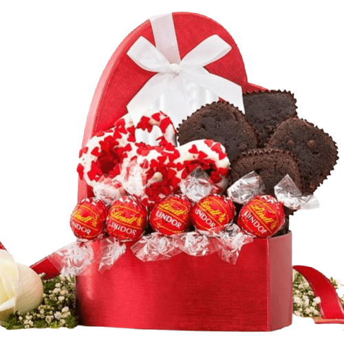 Valentine Brownies and Truffles - AVAILABLE 2/4/2020