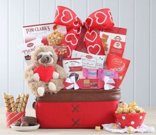 Valentine Sweets Gift Basket - SOLD OUT