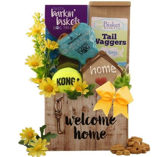 Welcome Home Dog Gift
