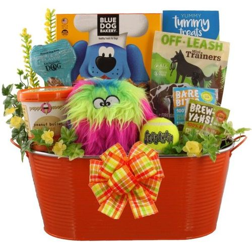 Wild Thing Dog Gift Basket