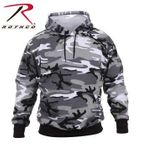 City Camo Pullover Hooded Sweatshirt