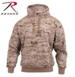 Desert Digital Camo Pullover Hooded Sweatshirt