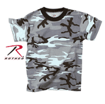 Sky Blue Camouflage T-shirt