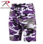 Ultra Violet Camo Camouflage Army Shorts