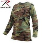 Rothco Womens Long Sleeve Camo T-Shirt