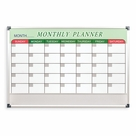 Essentials Magnetic Dry Erase Monthly Planner Board