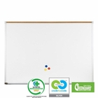 Green-Rite Markerboard with Deluxe Aluminum Trim 4' H x 4' W