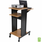 Presentation Cart (Teak/Black)