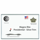 Presidential  Silver Trim - Magne-Rite Markerboards