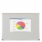 """Projection Plus Multimedia Dry Erase Markerboard 33.75""""H x 48""""W"""