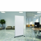 """X2 Series Full Height Mobile Magnetic Glass Markerboard 72"""" x 36"""""""
