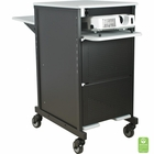Xtra Wide Presentation Cart - Gray