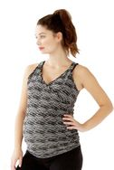 Belabumbum Active Collection Cross Front Maternity Nursing Top