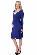 SOLD OUT Ripe Maternity Gia Long Sleeve Wrap Dress