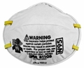 3M 8110S N95 Disposable Respirator (N95) (Case of 160 Masks)