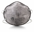 3M 8247 R95 Disposable Respirator (R95+OV) (Case of 120 Masks)