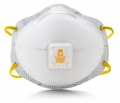 3M 8516 N95 Disposable Respirator (N95+AG) (Case of 80 Masks)