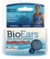 Cirrus BioEars Silicone Ear Plugs For Noise and Water Protection (Pack of 3 Pairs) (NRR 22)