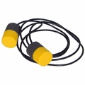 DeWalt PVC Foam Ear Plugs Corded (NRR 29) (Case of 1000 Pairs)