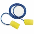 E-A-R Classic PVC Foam Ear Plugs Average Size Corded (NRR 29) (Box of 200 Pairs)