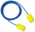 E-A-R Classic Soft UF Foam Ear Plugs Corded (NRR 31) (Box of 200 Pairs)
