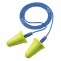 E-A-R Push-Ins With Grip Rings No-Roll Foam Ear Plugs Corded (NRR 30) (Case of 2000 Pairs)