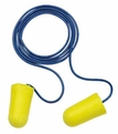 E-A-R Taper-Fit 2 UF Foam Ear Plugs Corded (NRR 32) (Box of 200 Pairs)
