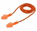 Elvex EP311OR TriSonic Reusable Ear Plugs Corded (NRR 25)