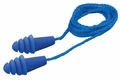 Elvex Quattro Reusable Ear Plugs Corded (NRR 27, SNR 34) (Box of 100 Pairs)