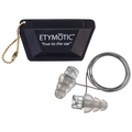 Etymotic ER20XS-CCC-C, ER20XS-SMF-C High Fidelity Musicians Ear Plugs (NRR 13) (One Pair + Cord and Carry Case)