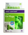 Flents Contour UF Foam Ear Plugs (NRR 33) (Pack of 10 Pairs w/Carry Case)