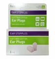 Flents Ear Stopples Ear Plugs (NRR 22) (Pack of 6 Pairs)