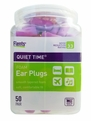 Flents Quiet Time Foam Ear Plugs (NRR 33) (Bottle of 50 Pairs)