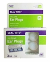Flents Seal-Rite/Sila-Flex Moldable Silicone Swimming Ear Plugs (NRR 21) (Pack of 3 Pairs)