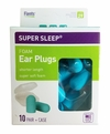 Flents Super Sleep Foam Ear Plugs (NRR 29) (10 Pairs w/Carry Case)