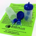 FliteMate™ Reusable Pressure Management Ear Plugs for Flying (NRR 22) (2 Pairs: 1 Small & 1 Average, each w/Carry Case)