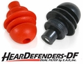 HearDefenders-DF™ Dual Filtered Natural Sound Variable Noise Reduction Ear Plugs