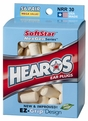 Hearos 5503 SoftStar NexGen Series Foam Ear Plugs (NRR 30) (56 Pairs)
