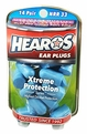 Hearos 5826 Xtreme Protection Series UF Foam Ear Plugs (NRR 32) (14 Pairs)