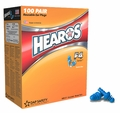Hearos F4 Series 7421 Reusable Ear Plugs (NRR 27) (Box of 100 Pairs)