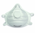 Honeywell Sperian  14110445 ONE-FIT NBW95V N95 Particulate Respirator with Molded Cup, and Exhalation valve (N95) (Case of 100 Masks)
