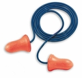 Howard Leight by Honeywell Max UF Foam Ear Plugs Corded in Biodegradable, Non-Static Paper Bags (NRR 33) (Box of 100 Pairs)