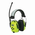 Howard Leight by Honeywell by Honeywell Sync Radio HI-VIS Digital AM/FM Radio Ear Muffs (NRR 25)